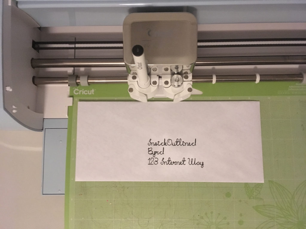 Writing With Your Cricut Explore Air 2 - No Bubble Letters -