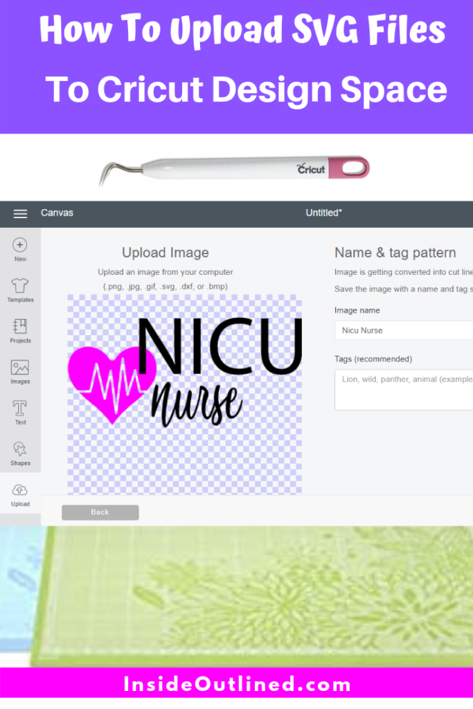 How To Upload SVG Files To Cricut Design Space -