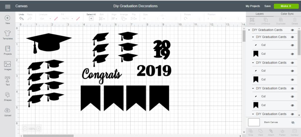 DIY Graduation Card and Decorations -