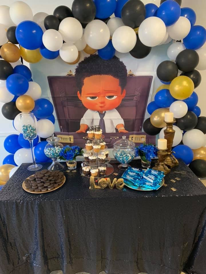 My First Party Cricut Baby Shower Ideas Boss Baby